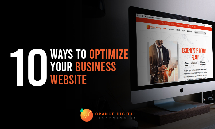 10 Ways to Optimize Your Business Websites